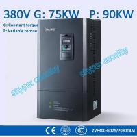 75/90kw motor pump 50Hz/60Hz AC drive CNC Variable-Frequency Drive VFD AC-DC-AC Low Voltage frequency converter Manufactures
