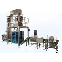 Quality Puffed Food VFFS Packaging Machine for Potato Chips with Electronic Multi-head Weigher for sale
