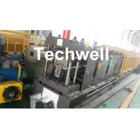 0-15m/min Forming Speed Cold Roll Forming Machine For Making Top Hat Channel , Furring Channel Manufactures
