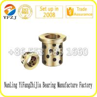 Mold Component Oilless Bearing Bushing Graphite Brass Bushing Graphite Bronze Bushing Manufactures