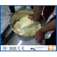 Continuous Butter Making Process Stainless Steel Butter Churn / Milk Pasteurizer Machine Manufactures