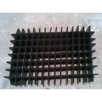 Black / White Heat resistance Foldable Plastic Divider Sheets for buffer / packing Manufactures