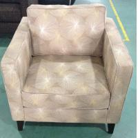Hotel fabric lounge chair,single sofa LC-0006 Manufactures