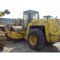 Auto Gear Second Hand Road Roller , Bomag Bw217d Pneumatic Roller Compactor Manufactures