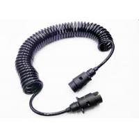 PVC Insulated 7 Core Trailer Backup Camera Cable For Truck Video System Manufactures