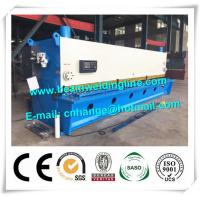 Metal Plate Hydraulic Guillotine Shearing Machine QC11Y Shearing For Plate Cutting Manufactures