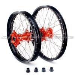 Quality KTM Black Custom Motorcycle Wheels Rims for sale