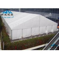 Clear Span Outside Event Tents , Easy Dismantled Church Tents For Donation Manufactures
