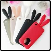 Best apple Rabito iPhone 4G cell phone TPU silicone case with rabbit tail  Manufactures