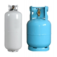 China steel material 15 Kg Cryogenic Gas Cylinder Bulk LPG Storage Tank on sale