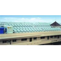 Flat Solar Collectors for Solar Water Heating in Manufactures