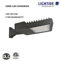 CREE LED Shoebox Area Lights, 100W, CE/ROHS, 7 Years Warranty Manufactures