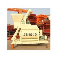 Buy cheap 50m3/H Stationary Concrete Mixer Machine Horizontal 1600L Charging Capacity from wholesalers