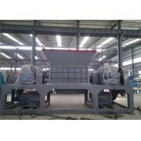 Automatic Industrial Scrap Metal Shredder 5 Tons Capacity H13 Blade Material Manufactures