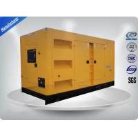 Rental Cummins Diesel Generator Set Soundproof , 75 dB Three Phase Diesel Generator Manufactures