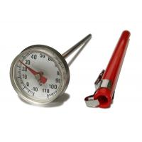 Stainless Small Dial Pocket Milk Frothing Thermometer With Magnifying Lens Manufactures