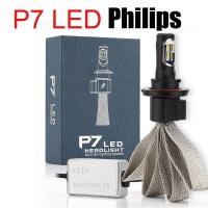 Philip Bulb Car LED Headlight IP68 Pure White Color Led Automotive Headlamps Manufactures