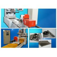 Casting Wedged Wire Screen Mesh Wrapped Welding Machine With Mitsubishi Servo Motor Manufactures