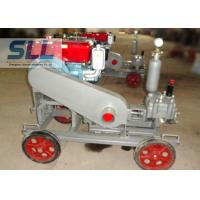 2 MPa Pressure Cement Grouting Pump With Gear Reducer Low Failure Rate Manufactures
