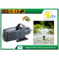 Plastic Multi - System Water Fountain Submersible Pump Energy Saving Big Flow Rate Manufactures