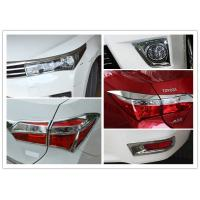 COROLLA 2014 Chromed Car Headlight Covers TailLight Garnish And Fog Lamp Bezel Manufactures