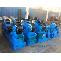 Conventional Self Aligned Welding Rotator For Pipe Tank Pressure Vessel Boiler 60T Manufactures