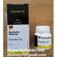 White Injectable Anabolic Steroids Oral Dianabol Metandienone CAS 72-63-9 Manufactures