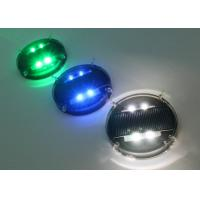 Waterproof Solar Road Markers / Flashing Marker Lights With Li-on Battery Manufactures