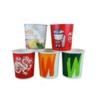 Full Colour Print Take Out Soup Bowls With Lids For Restaurant , Eco Friendly Manufactures