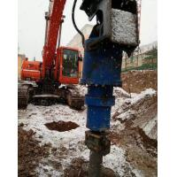 Power Hydraulic Earth Auger For 500 mm Max Auger Diameter Clay / Shale Drilling Manufactures
