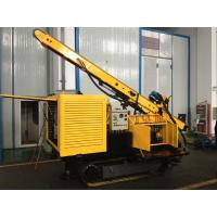 Yellow Color Grouting Machine For Conveying Slurry , Compress Air And Water Manufactures