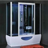 Modern Rectangular Shower Enclosure With Sliding Door Steam Room And Shower