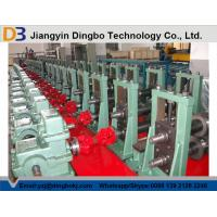 China Color Steel Metal Storage Rack Making Machine With Gear Box Transmission on sale