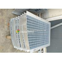China Trench Cover Galvanized Bar Grating High Bearing Anti - Corrosion Special Shape on sale