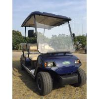 Aluminum Chassis 48V Two Seaters Electric Mini Golf Car For Portable Valuables Manufactures