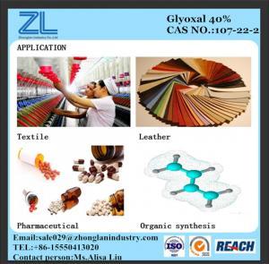 Glyoxal 40% liquid Manufactures