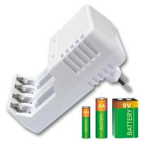 Nimh Battery Universal Battery Recharger For AA AAA C D 9V RAM Manufactures