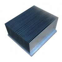 Clear Alodined Aluminum Heatsink Extrusion Profiles 6063-T5 For Industry Manufactures