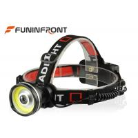 3 Gears 3W COB Lamp Rechargeable Outdoor LED Headlamp for Camp Hike Hunt Lights Manufactures