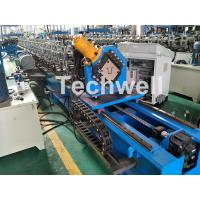 Guiding Column Forming Structure Hat Profile Cold Roll Forming Machine For 15KW Motor Power Manufactures