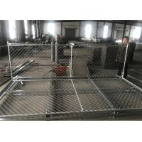 "6'X12' chain link fence panels 1⅜""(35mm) outer tube 1.2 oz/ft2/366 g/m2 hot dipped galvanized  mesh aperture ) 2½""/63mm Manufactures"