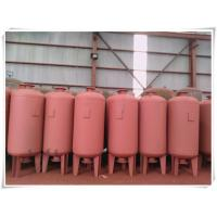 Red Color Water Pump Diaphragm Pressure Tank For Water Supply System High Building Manufactures