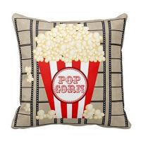 China Movie Theater Throw Pillow Covers Vintage Cinema Poster Design Cushion Cover Home Decorative Pillowcases (Vintage Cinema on sale