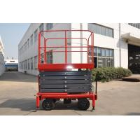 Quality 7.5 meters height mobile hydraulic lift platform with motorized device loading capacity at 450Kg for sale