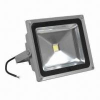 50W COB LED Floodlight, 85 to 277V AC, w/ UL Approval, Corrosion-resistant, Heatsinks are Anodized Manufactures