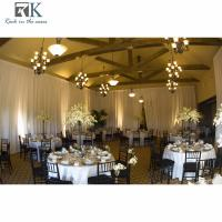 pipe and drape upright wedding decoration stage fancy wedding tent pipe and drape craigslist Aluminum wedding decoration Manufactures
