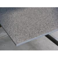 Buy cheap Mirror gray quartz slab, artificial quartz, engineered stone from wholesalers