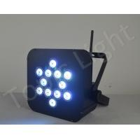 Stage club wireless DMX Control LED RGBW 4in1 Par Light Manufactures