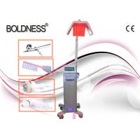 Low Level Therapy Laser Hair Growth Machines 650nm With Ozone High Frequency Comb Manufactures