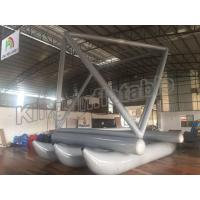 Special Design Grey Inflatable Fly Fishing Boats For Sailing Games Use Manufactures